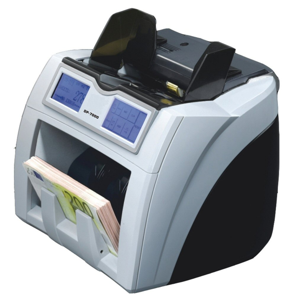 best bill counter - currency scanner DP-7100-E 3D