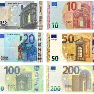 Verifica banconote di tutti i tagli - Software aggiornamento nuovi euro