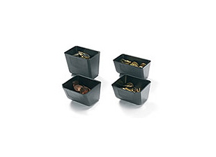 till cups to fit the coin compartments of the most commonly-used PoS cash drawers on the market.