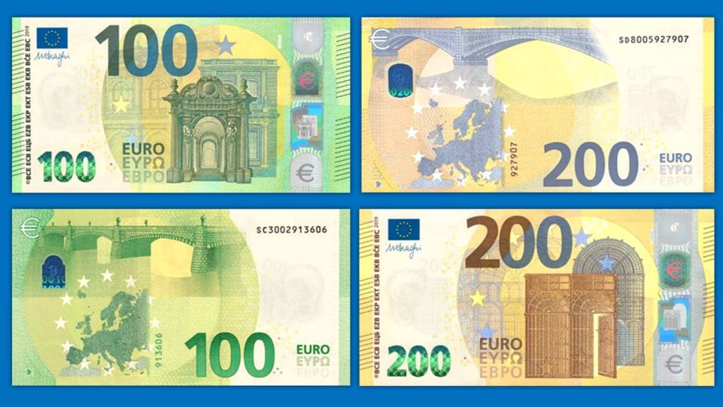 New € 100 and new € 200 banknotes are here - Europe series